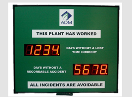 LED Incident / Accident Display